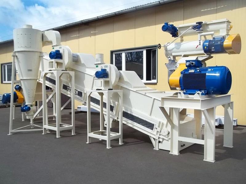 Подбор оборудования для производства комбикорма