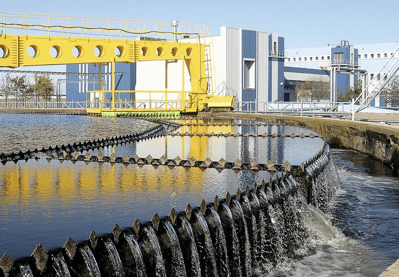 система очистки сточных вод городских поселений